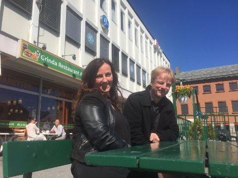 Berit Tønnesen og Arne Grødahl i Kristiansund Arbeiderparti.