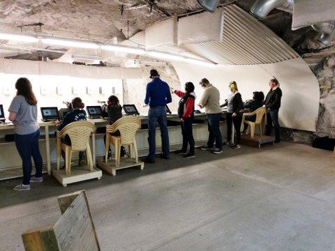 Kun skyttere fra Kristiansund var med på stevne på Nordlandet sist helg.