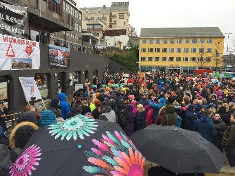 Streikemøte Rådhusplassen 26.mars 2019