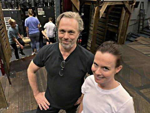 Koreograf Ketil Gudim har fått med danseren Anne-Stine Sæther på årets lady-oppsetning.