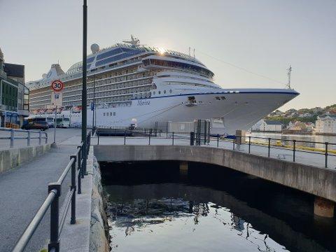 «Marina» drar videre klokken 16.00 fra Kristiansund. Da går turen nordover til Lofoten.