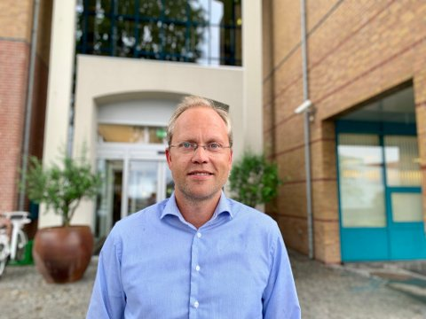 Sjeføkonom Kyrre Knudsen mener antall arbeidsledige i Norge er tilnærmet perfekt for øyeblikket.