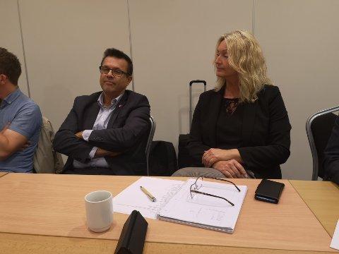 Frank Sve (Frp) sørger for at Tove-Lise Torve (Ap) blir fylkesordfører.