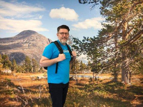 SØKER: Styreleder Tom Godtland i Norsk Vandrefestival søker om pengehjelp fra kommunene, og vil samtidig ha med seg kommunene som eier av festivalen. Det er kommunene skeptisk til.