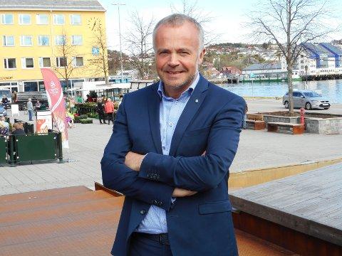 Ordfører Kjell Neergaard i Kristiansund.