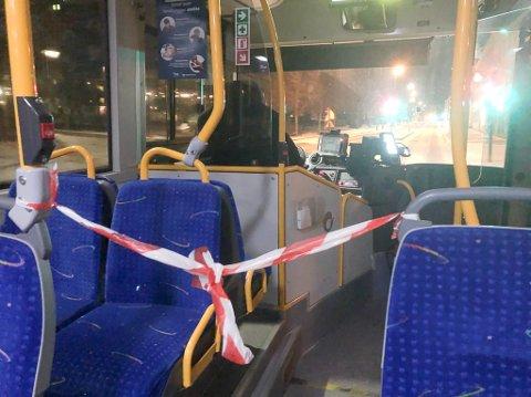 Bare halvparten av busskapasiteten kan benyttes i tiden framover.