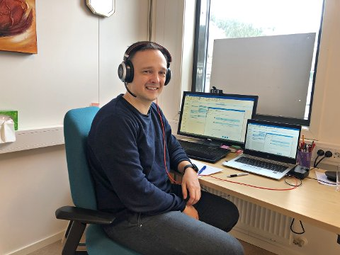 – Den første uka etter regjeringens nedstengning, hadde vi 350 videokonsultasjoner. I uka etter økte dette til 600. Nå er målsettingen for 2020 økt til 25.000, sier Odd Arne Maridal, IKT-sjef i Helse Møre og Romsdal.