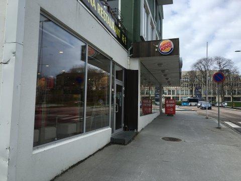 Nedgangen i salget i mars utgjør 27 millioner kroner eller om lag 270.000 færre Whopper-menyer, skriver Dagens Næringsliv. Burger King har restaurant også i Kristiansund.