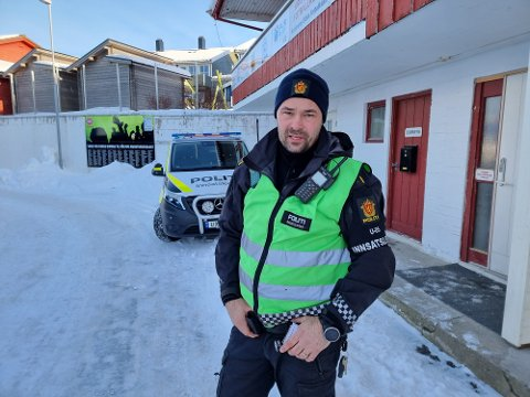 Politiets innsatsleder Morten Hammerås.