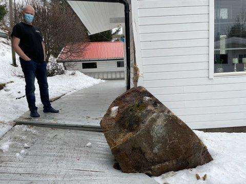 Huseier Tore Øymo er rystet etter uhellet.