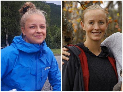Maria Båtnes (t.v.) og Anniken Fure Stensrud flytter begge nordvestover fra Østlandet for å begynne i ny jobb på Nordmøre