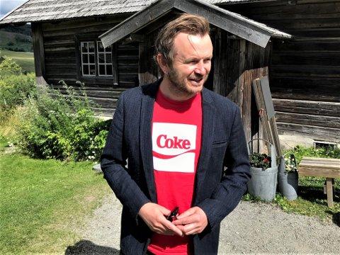LUFTETUR: Det begynner å bli en stund siden Knut Anders Sørum var ute på turne, men nå skjer det og han er klar.