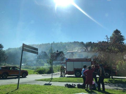 Ulykken skjedde ved inngangen til Nordlandet Ungdomsskole.