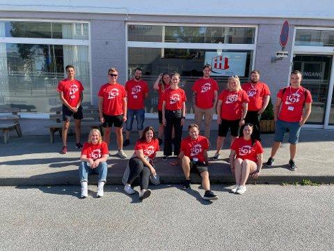 Dette er årets 15 deltakere i LOs Sommerpatrulje.