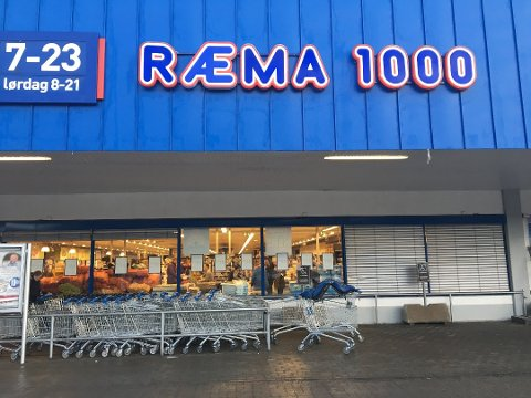 RÆMA 1000: Her fra Gulskogen i Drammen.