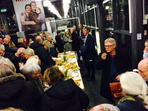 MAT: Det var stinn brakke da Brygga kino inviterte til åpning.
