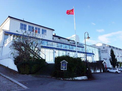 STREKMUNN: Grand Hotel Åsgårdstrand fikk strekmunn etter at Mattilsynet fant en rekke mangler.