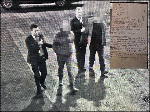 TATT: De to rumenerne ble avslørt av Nokas-vektere ved et kjøpesenter på Romerike. De innrømmer å ha stjålet varer for over 200.000 kroner. På lista som ble funnet på dem sto det flere Vestfold-adresser.