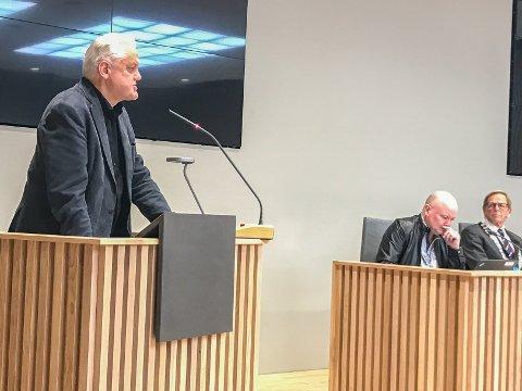 FIKK MOTBØR: Jørn Magdahl fikk mye motbør for sitt forslag om å lage en plan for økonomisk tilsyn i barnehagene. Han pekte på at regjeringen har etterlyst slike tilsyn.