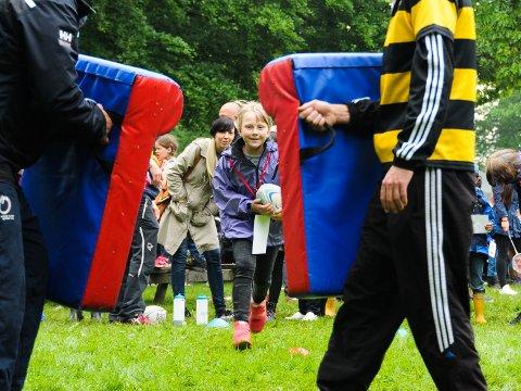 ULIKE AKTIVITETER: På Barnas Færderfestival er det mulig å prøve mye forskjellig – helt gratis.