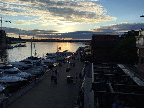 Det var lite å klage på i helgen, da Vestfoldbyene ble tildelt en smakebit av syd-Europeisk sommerstemning. Tønsberg og Nøtterøy ble varmest i hele landet på søndag.
