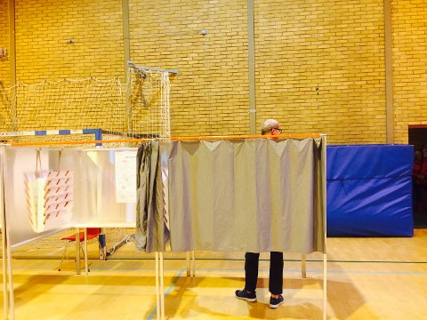 IKKE LANGT NOK OPP: Jon Sanness Andersen (Ap) var Færder-valgets lengste ordførerkandidat, men i kampen om ordførerkjedet, ser det ikke ut til at han nådde opp.