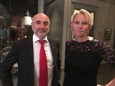 VIL IKKE: Stortingsrepresentantene Dag Terje Andersen (Ap) og Maria Aasen-Svensrud (Ap)  ønsker ikke sammenslåing med Telemark. Det ønsker ikke Aps stortingsrepresentanter i Telemark heller.