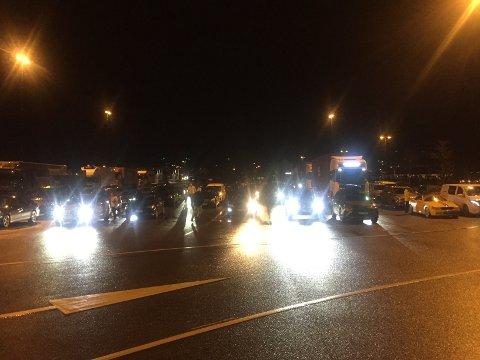 Ventende har stått på kaia i Moss siden 16.30.