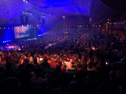Ungdom fra hele verden samles på Oslofjord Convention Centre i påsken.