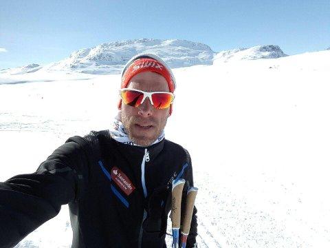 Anders Aukland blir ambassadør for Skinnarbu Nasjonalparkhotell - nå vil han at Vestfoldinger skal oppleve de flotte langrennsløypene der oppe.