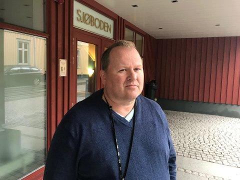 EVAKUERT: Odd Arne Reberg er fornøyd med både informasjon og oppfølging.