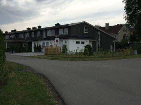 ULYKKE: Det var her i Thorvald Bergs vei at ulykken skjedde.