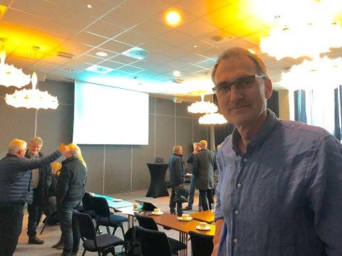 KRITISK: Skal klimagassutslippene gå ned med 40 prosent til 2030, må de kuttes hvert eneste år, sier Harald Moskvil.