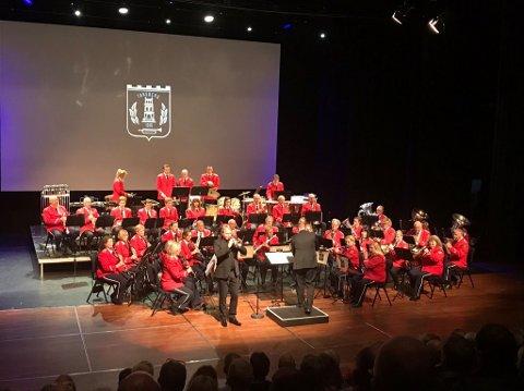 Tønsberg Musikkorps av 1919 med Ole Edvard Antonsen
