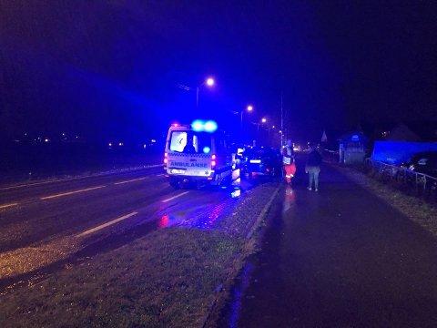 ULYKKE: Ulykken skjedde i Kjærveien i Åsgårdstrand.