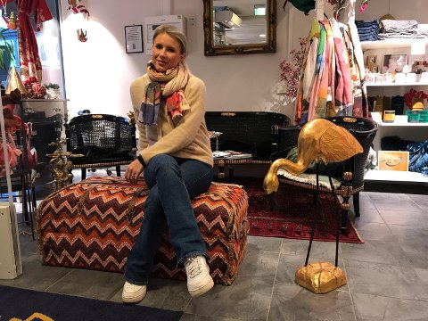 GÅR MOT STRØMMEN: Maren Emilie Mørk Aamodt har bestemt seg for ikke å delta på årets Black Friday.
