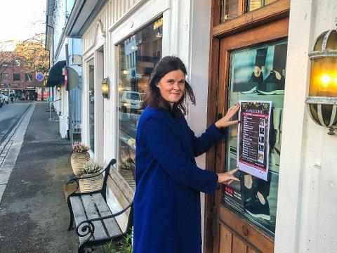 MANGE TOMME LOKALER: Det er ikke bare bare å drive handelsvirksomhet i Tønsberg sentrum. Men bedriftene må slutte å rette pekefingeren mot kundene, mener Cecilie Sørumshagen i Tønsberglivet.