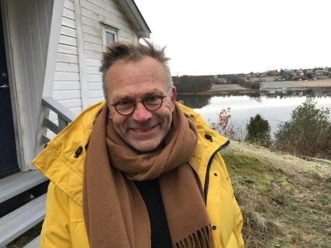 FORNØYD: Arkitekt Rune Breili er strålende fornøyd både med å få ja til prosjektet i Amundrødveien og med kommunens saksbehandling.
