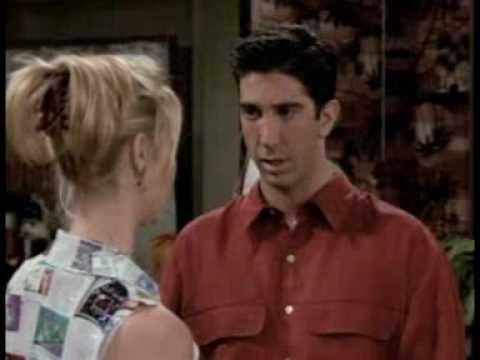 HEFTIG DISKUSJON: Phoebe (Lisa Kudrow) driver Ross (David Schwimmer) til vanvidd gjennom sin slumsete omgang med vitenskapen i TV-serien «Friends».
