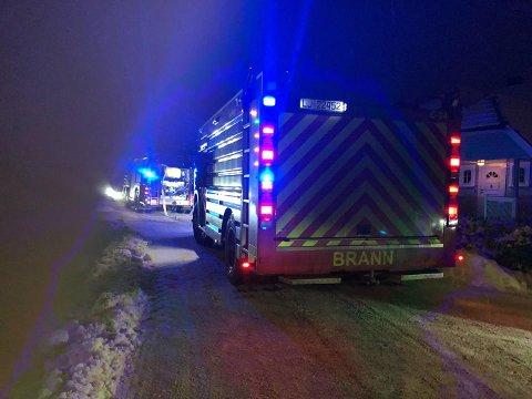 Brannvesenet fikk melding om hendelsen klokken 07.20.