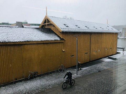 GRÅVÆR: Det ventes både regn og snø de neste dagene.
