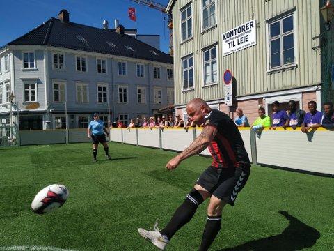 KLINTE TIL: Tønsberg Army gav alt, og var strålende fornøyd etter NM.