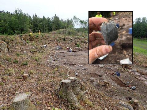 ÅPEN DAG I FELT:  Bli med ut i felt og lær hvordan arkeologer jobber og hva de finner ut.