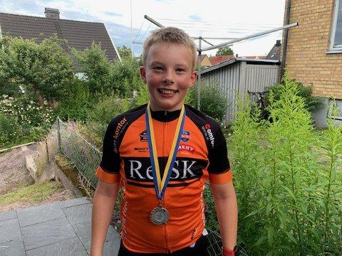 I TOPPEN: Eirik Heierstad ble best fra Re med 4. plass  torsdag. OPg er med i toppen også sammenlagt.
