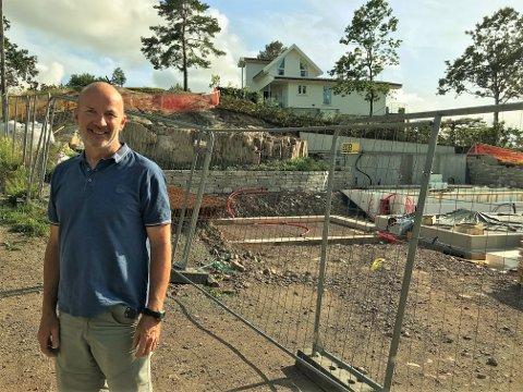 SPRENGT: Dette må uten tvil kunne kalles «et vesentlig terrenginngrep», mener Leif Inge Magnussen.