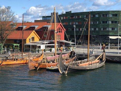 VIKINGODDEN: Antagelig Tønsbergs mest populære fotomogtiv. Et vikingmuseum her vil bli en attraksjon av internasjonalt format.