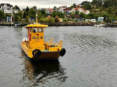 POPULÆRT FRAMKOMSTMIDDEL: Det ble ramaskrik da Ole III sluttet å gå i 2012 av økonomiske årsaker. I 2017 kom driften i gang igjen, ved hjelp av den nye eieren Oslofjord Convention Center. I år har båten gått ved hjelp av et samarbeid mellom OCC, Tønsberg kommune, Færder kommune og Vestfold fylkeskommune.