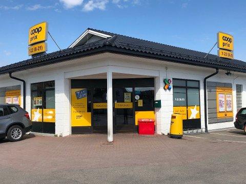 TOMT I MÅNEDSVIS: Den gamle Coop Prix-butikken på Sem stengte 1. juni i fjor.