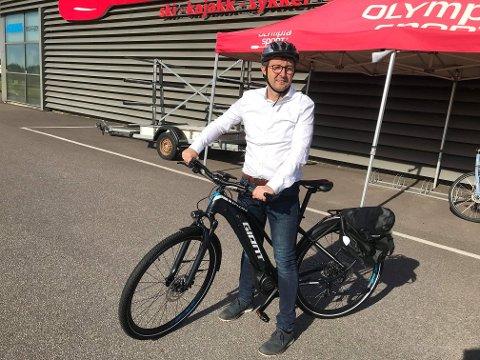 Undertegnede har el-sykkel, men savner nok  trygge sykkelparkeringsplasser i region vår.