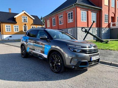 BLIR HYBRID: Nå kommer Citroën C5 Aircross i norgesvennlig ladehybridutgave. Samlet systemeffekt er 225 hestekrefter.